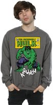 Marvel Men's Hulk Krunch Sweatshirt