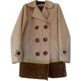 Louis Vuitton Camel Linen Jacket