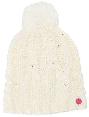 Roxy Shooting Star Beanie (Bright White) Caps