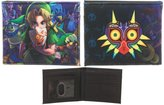 Bioworld Legend of Zelda Majora's Mask Bi-Fold Wallet