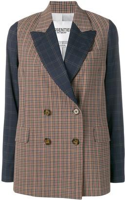 Essentiel Antwerp Song check jacket