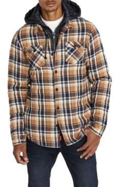 Buffalo David Bitton Samira Men's Hooded Plaid Shirt