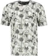 Tiger of Sweden FREDRYK Print Tshirt dark white