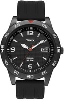 Timex Men's Watch with Resin Strap - Black T2N694JT