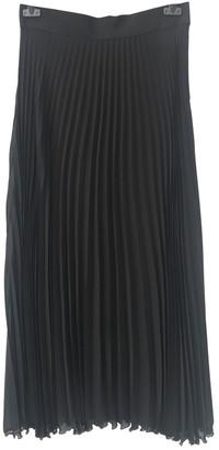 Francesco Scognamiglio Black Silk Skirt for Women