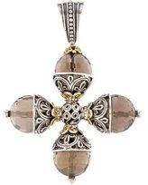 Konstantino Smoky Quartz Cross Pendant