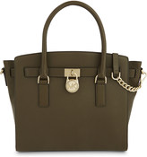 MICHAEL Michael Kors Hamilton East/West large grained leather tote