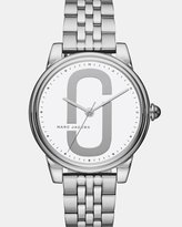 Marc Jacobs Corie Silver-Tone Analogue Watch