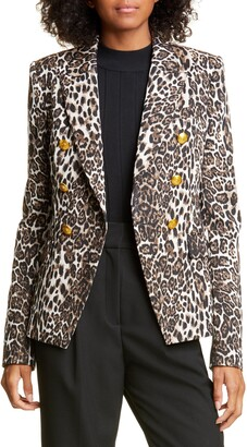 A.L.C. Alton Leopard Print Jacket