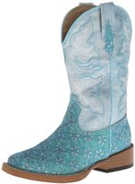 Roper Square Toe Glitter Floral Western Boot (Toddler/Little Kid)