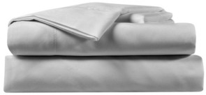 Sealy Charcoal 4 Piece Fresh Cool Sheet Set, Queen Bedding