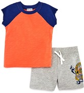 Splendid Boys' Tee & Skull Print Shorts Set