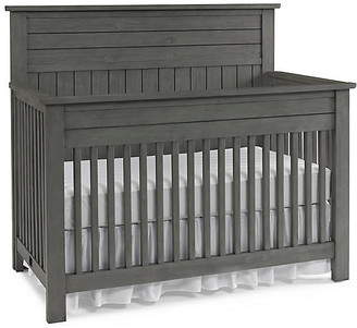 One Kings Lane Channing Crib - Nantucket Gray