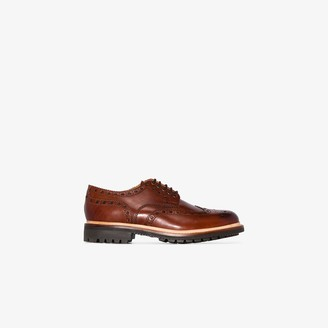 Grenson brown Archie leather brogues