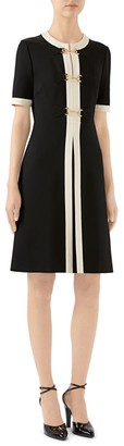 Gucci Stretch Jersey Short-Sleeve Dress