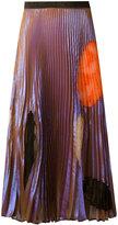 Christopher Kane translucent cut out skirt - women - Silk/Nylon/Polyester/Acetate - 38