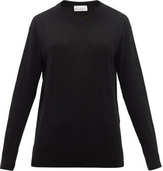 Raey V-neck Cashmere Sweater - Black