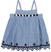 Scotch R'Belle EMBROIDERED CHAMBRAY TOP