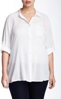 Susina Gauze Blouse (Plus Size)