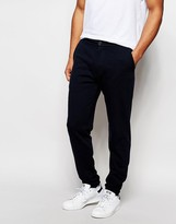 Asos Skinny Joggers With Button Fly Detail
