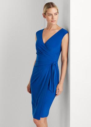 Ralph Lauren Jersey Wrap-Style Dress