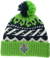 adidas Seattle Sounders FC Sweater Pom Knit Hat