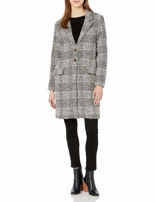 The Fifth Label Women's Project Check Fashion Pea Coat