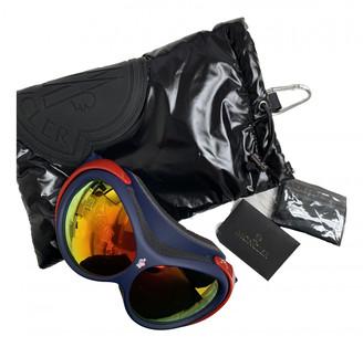 Moncler Red Plastic Sunglasses