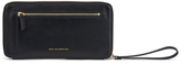 WANT Les Essentiels Women's Liberty Travel Zip Wallet/Passport Cover Black