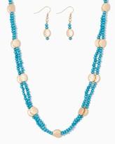 Charming charlie Layered Sunshine Bead Necklace Set
