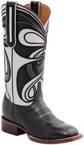Lucchese Hypnotic Swirl Cowboy Leather Boot
