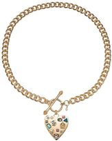 Juicy Couture Heart Toggle Necklace