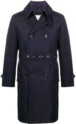 MACKINTOSH Monkton Raintec cotton trench coat