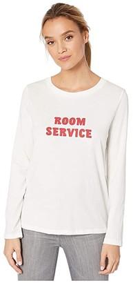 ban.do Long Sleeve Boxy Tee (Room Service) Women's Clothing