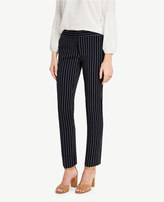 Ann Taylor The Petite Ankle Pant in Stripes - Kate Fit