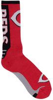 For Bare Feet Cincinnati Reds Jump Key II Socks