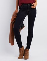 Charlotte Russe Refuge Skin Tight Legging Dark Rinse Jeans