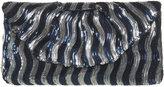 Wave Sequin Clutch Bag