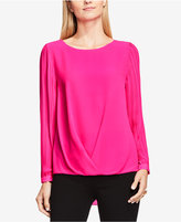 Vince Camuto Pleated High-Low Top