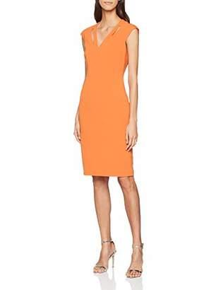 Karen Millen Women's Contour Cut Out DresParty Party Dress,8 (Size:UK 8)