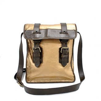 Fendi Gold Leather Bags