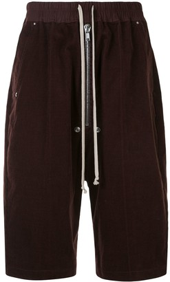 Rick Owens Bela Pods corduroy shorts