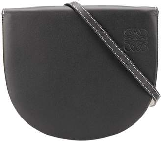 Loewe heel cross-body bag black
