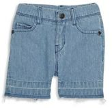 Little Marc Jacobs Baby's Play It Loud Denim Bleach Shorts