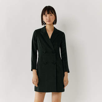 Warehouse Tuxedo Mini Dress
