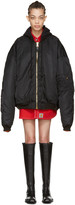 Vetements Reversible Black Alpha Industries Edition Bomber Jacket