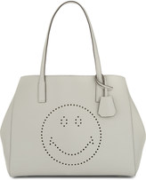Anya Hindmarch Ebury Smiley leather shopper
