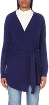 Sandro Edith wool and cashmere-blend cardigan