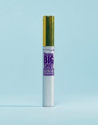 Maybelline Colossal Big Shot Mascara Primer 01 Black Fibre