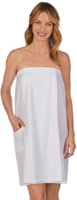 Stan Herman Women's Textured Terry Shower Wrap